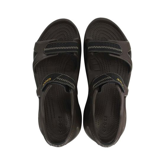 Crocs Men's Swiftwater River Sandal Espresso US 11, Espresso, bcf_hi-res