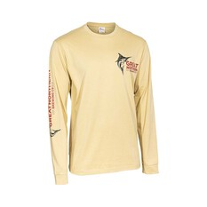 The Great Northern Brewing Co. Men's Long Sleeve Tee, Light Sand, bcf_hi-res