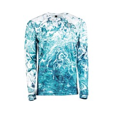 Tide Apparel Mens Frost Angler Fishing Jersey Frost S, Frost, bcf_hi-res