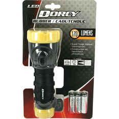 Dorcy LED Rubber Grip Torch 3xAA, , bcf_hi-res