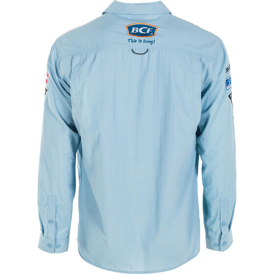 BCF Men's Long Sleeve Fishing Shirt Spray 3XL, Spray, bcf_hi-res
