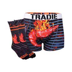 Tradie Shrimp Socks and Jocks Shrimp S, Shrimp, bcf_hi-res