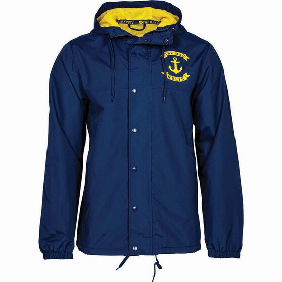 The Mad Hueys Men's Anchor Spray Jacket Navy L, Navy, bcf_hi-res