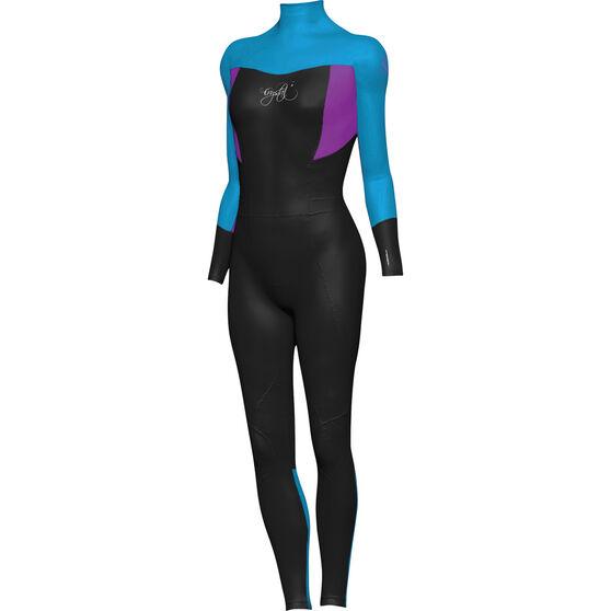 Mirage Kids' Superstretch Steamer Wetsuit, Blue, bcf_hi-res