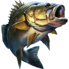 Savage Bass Sticker Small 2 Pack, , bcf_hi-res
