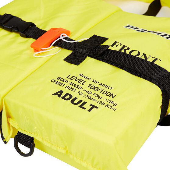 Marlin Australia Adult VIP Standard Level 100 PFD, , bcf_hi-res