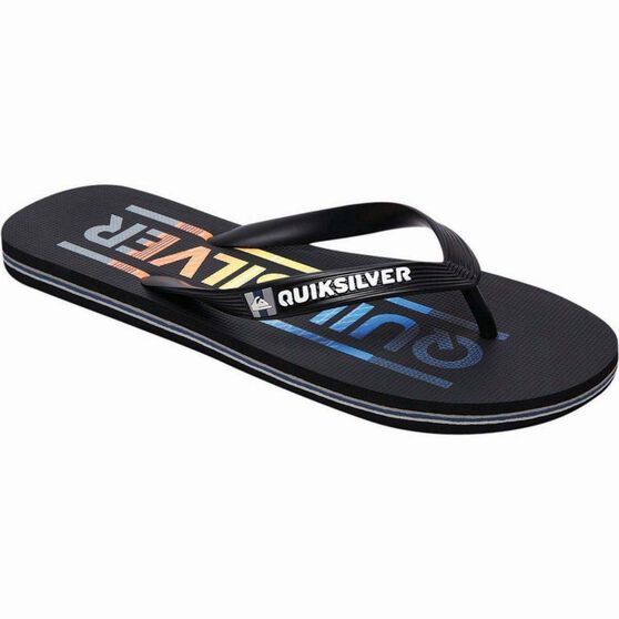 Quiksilver Men's Molokai Wordmark Thongs, , bcf_hi-res