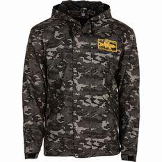 Tide Apparel Men's Hooked Up Jacket Camo S, Camo, bcf_hi-res