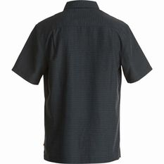 Quiksilver Men's Centinela 4 Regular Fit Shirt Black S Men's, Black, bcf_hi-res