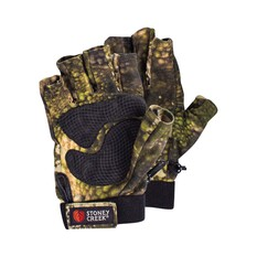Stoney Creek Men's Fingerless Gloves Tuatara Camo Forest S, Tuatara Camo Forest, bcf_hi-res