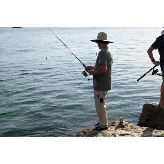 Quiksilver Bright Coast Adjustable Thongs, Black / White, bcf_hi-res