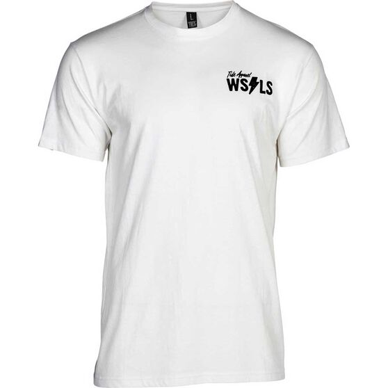 Tide Apparel Men's WSLS V2 Tee, White, bcf_hi-res