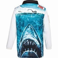 Tide Apparel Kids' Jawz Fishing Jersey Blue / White 6, Blue / White, bcf_hi-res