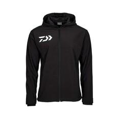 Daiwa Men's Softshell Jacket Black S, Black, bcf_hi-res