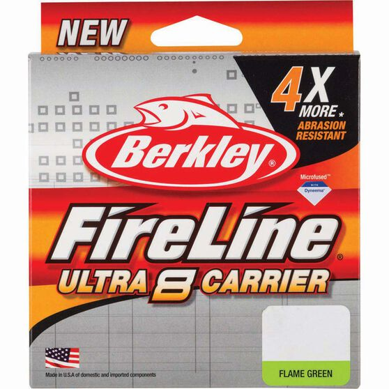 Berkley Fireline Ultra 8 Braid Line 300m 20lb Orange 300m, , bcf_hi-res