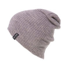 XTM Unisex Floyd Beanie Light Grey Marle OSFM, Light Grey Marle, bcf_hi-res