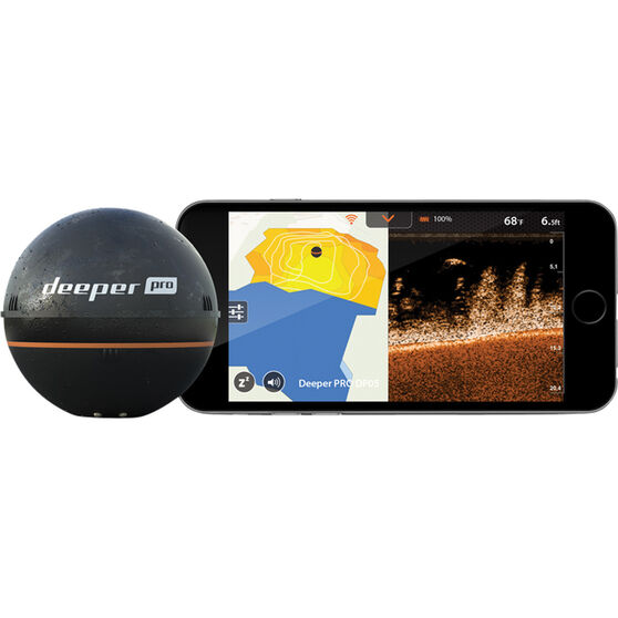 Deeper Smart Sonar Pro Fish Finder, , bcf_hi-res