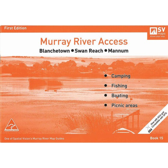 AFN Murray River Access Map 15 Blanchetown to Mannum, , bcf_hi-res