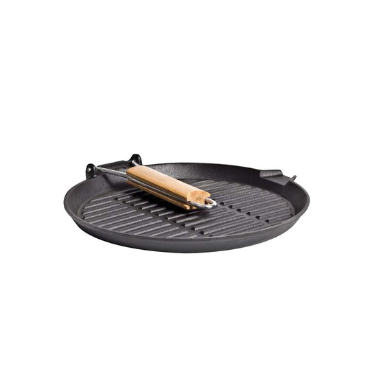 Campfire Cast Iron Round Griddle Frypan, , bcf_hi-res