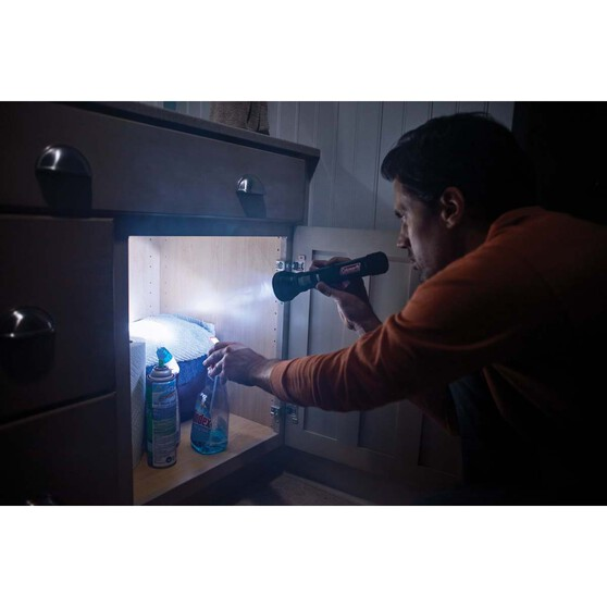 Coleman Battery Guard 350m LED Torch, , bcf_hi-res