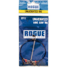 Rogue Unweighted Wire Surf Rig, , bcf_hi-res