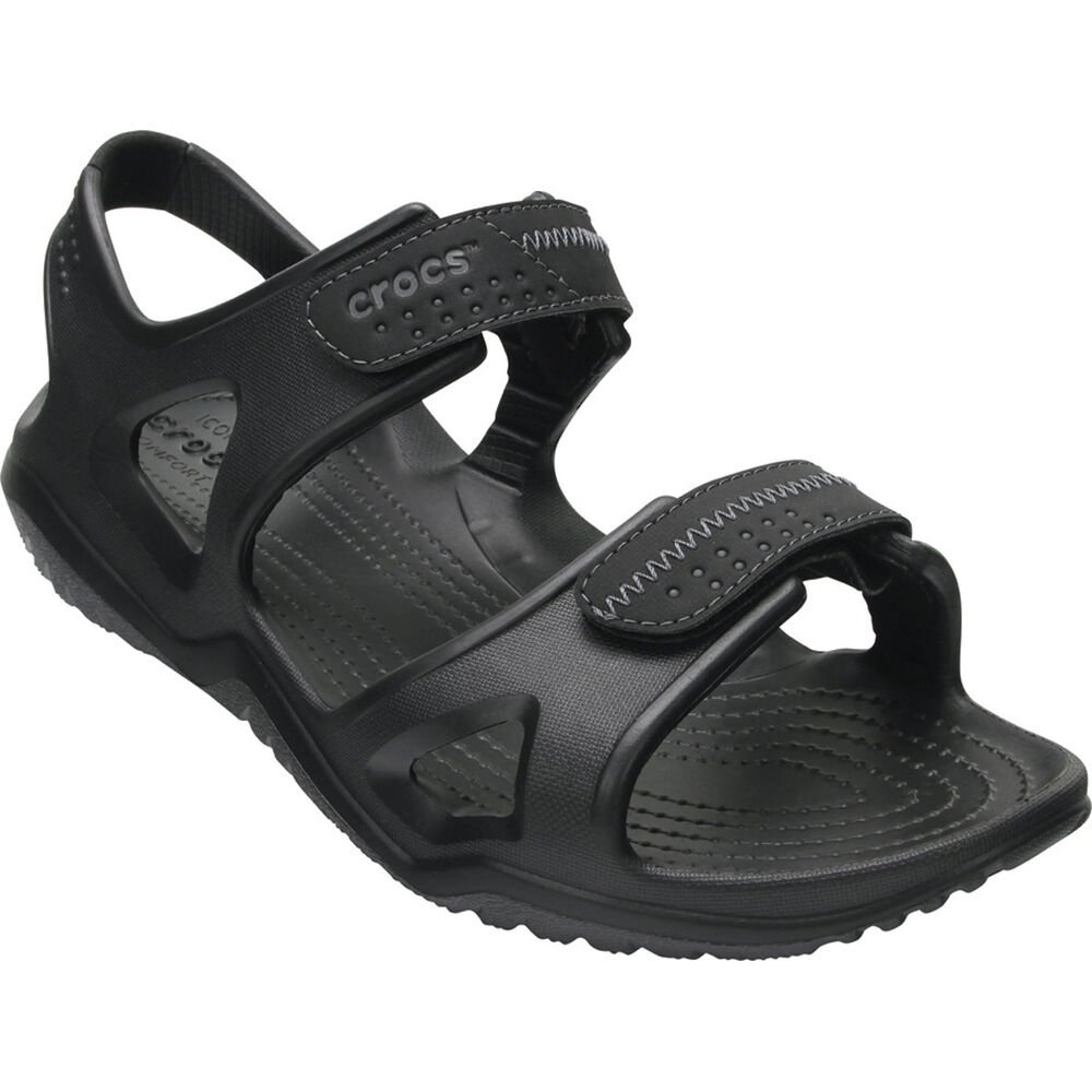 5342a66d1da8ff Crocs Men s Swiftwater River Sandal Black 7