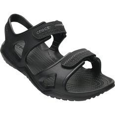 Men's Swiftwater River Sandals Black 7, Black, bcf_hi-res