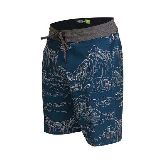 Quiksilver Waterman Men's Angler Print Boardshorts, , bcf_hi-res