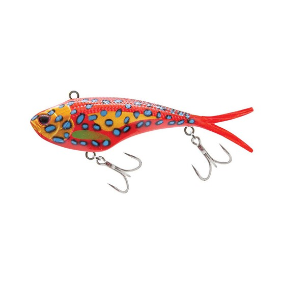 Nomad Vertrex Max Soft Vibe Lure 130mm Coral Trout, Coral Trout, bcf_hi-res