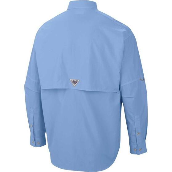 Columbia Men's Long Sleeve Bahama II Fishing Shirt, Sail, bcf_hi-res