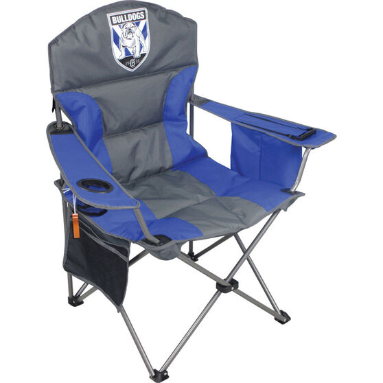 NRL Canterbury Bulldogs Camp Chair, , bcf_hi-res