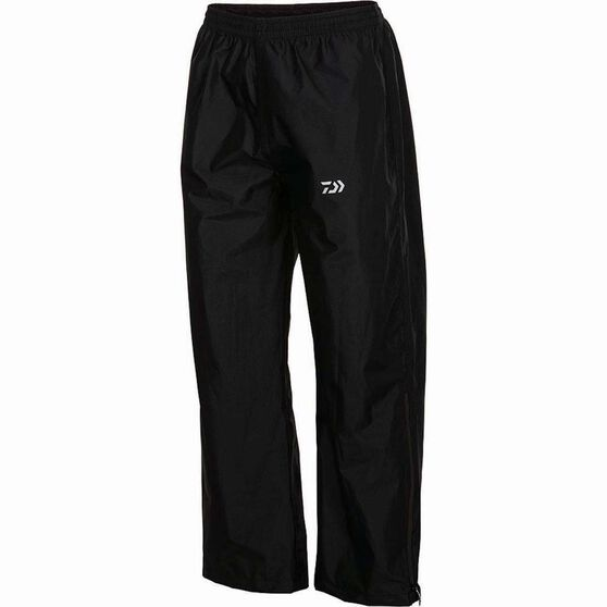 Daiwa Men's Rain Pants, Black, bcf_hi-res