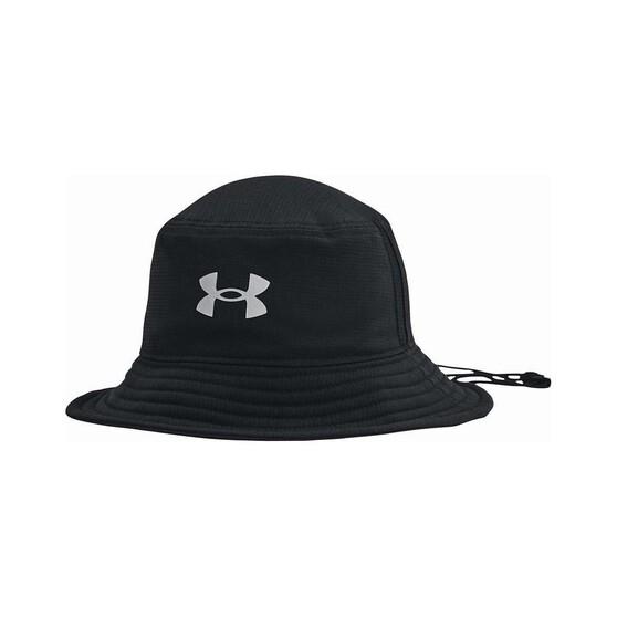 Under Armour Mens Isochill Armourvent Bucket Hat Black M, Black, bcf_hi-res