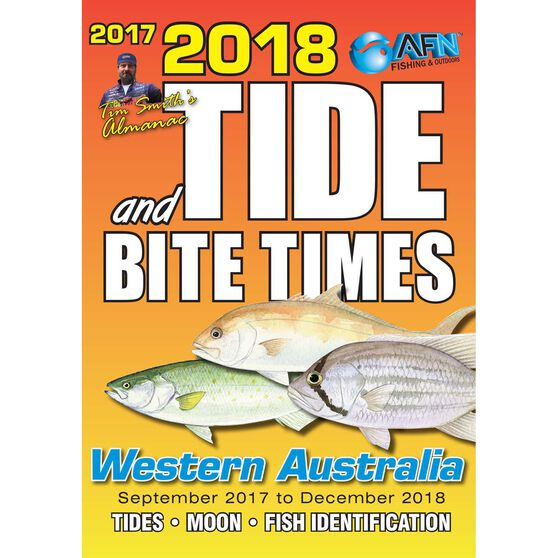 AFN Tide and Bite Guide 2018 Western Australia, , bcf_hi-res