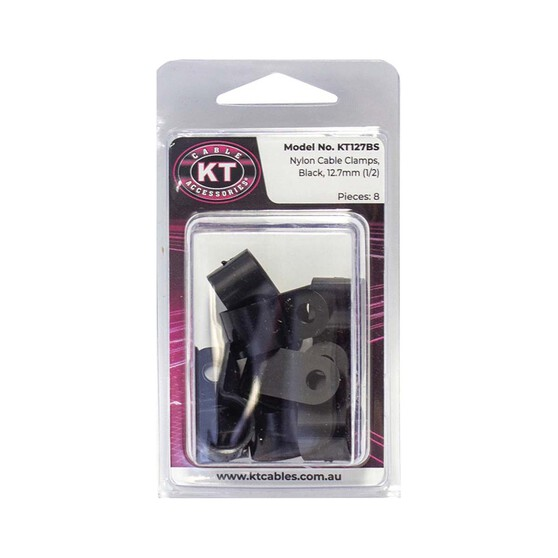 KT Cables Cable Protection Clamps 8 Pack, , bcf_hi-res