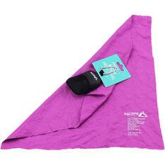 Escape Outdoors Micro Hiking Towel Purple S, Purple, bcf_hi-res