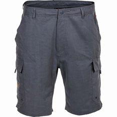 Savage Men's Cargo Shorts Grey S, Grey, bcf_hi-res