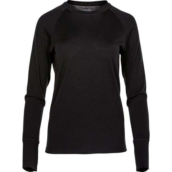 OUTRAK Women's Merino Long Sleeve Top, , bcf_hi-res