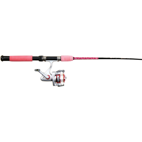 Shakespeare Tackleratz Spin Junior Combo Pink 3ft 9in, Pink, bcf_hi-res