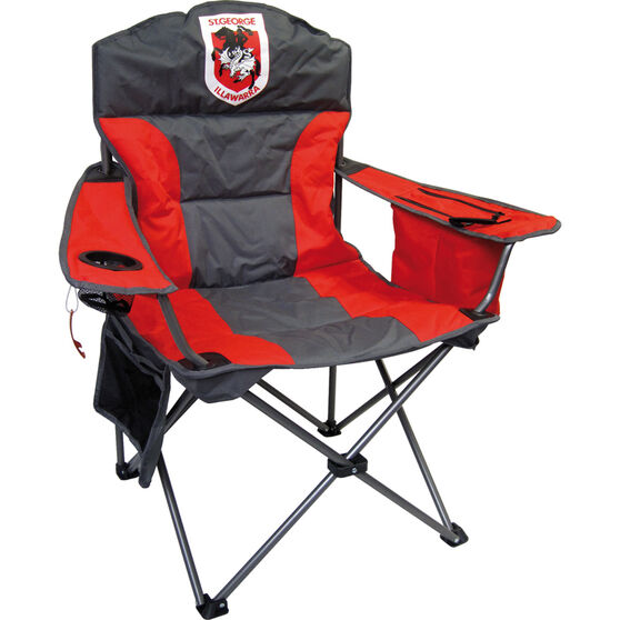 NRL St George Dragons Camp Chair, , bcf_hi-res