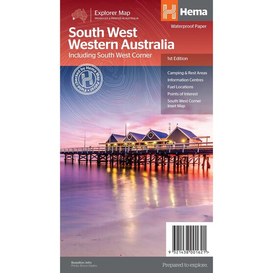 Hema South West Western Australia Map (1st Edition), , bcf_hi-res