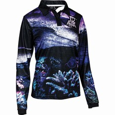 Tide Apparel Women's Reef Fishing Jersey, Multi, bcf_hi-res