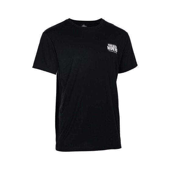 The Mad Hueys Men's Hammerhead UV Short Sleeve Tee, Black, bcf_hi-res