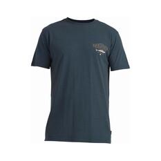 Quiksilver Men's Mini Wahoo Short Sleeve Tee Dark Grey S, Dark Grey, bcf_hi-res