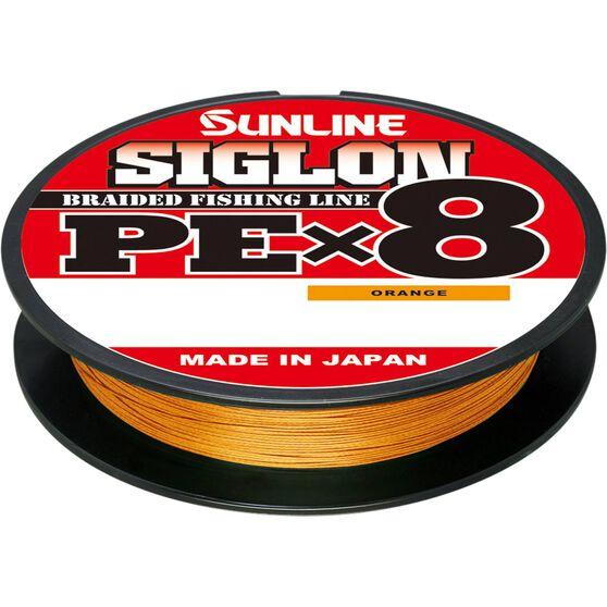 Sunline Siglon Orange Braid Line 150m, , bcf_hi-res