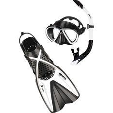 Mares Bonito X-One Snorkelling Set White / Black S / M, White / Black, bcf_hi-res
