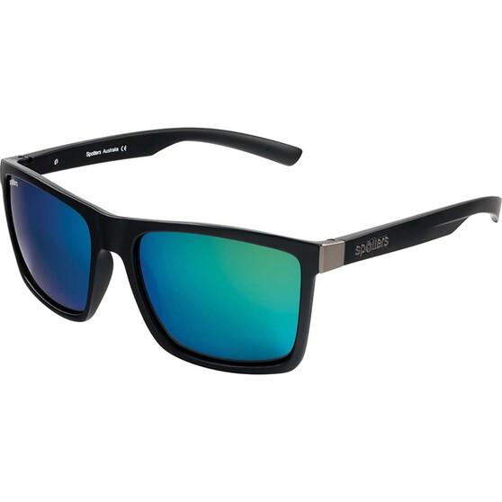 Spotters Riot Men's Sunglasses Matt Black Nexus Lens, , bcf_hi-res