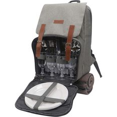 Wanderer Premium 4 Person Backpack Picnic Set, , bcf_hi-res