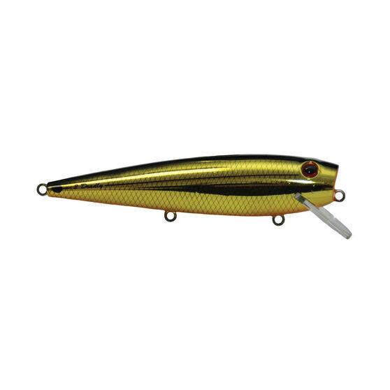 Killalure 2Deadly Hard Body Lure 120mm Gold Black 120mm 6ft, Gold Black, bcf_hi-res