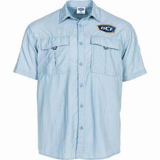 BCF Short Sleeve Fishing Shirt Spray S, , bcf_hi-res